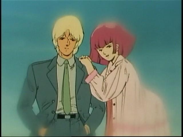 ハマーンとシャアが本当の恋人になるまでの馴れ初めを描きました